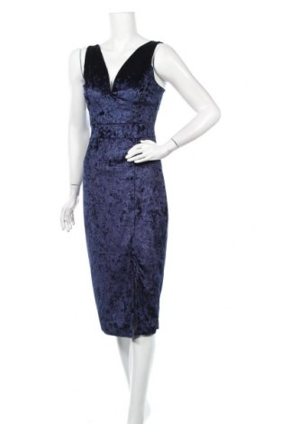 Φόρεμα Floyd By Smith, Μέγεθος M, Χρώμα Μπλέ, 97% πολυεστέρας, 3% ελαστάνη, Τιμή 23,39€