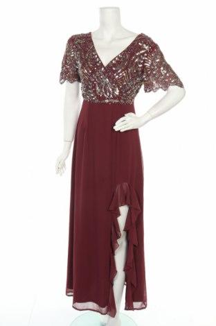 Рокля Lace & Beads, Размер M, Цвят Червен, Полиестер, Цена 64,07лв.