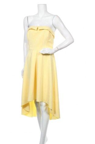 Φόρεμα Miss Selfridge, Μέγεθος M, Χρώμα Κίτρινο, 93% πολυεστέρας, 7% ελαστάνη, Τιμή 30,80€