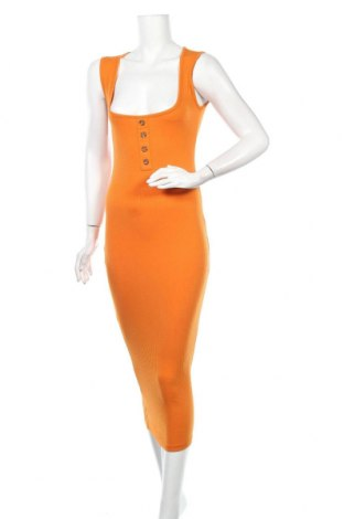 Рокля Missguided, Размер S, Цвят Оранжев, 50% полиестер, 45% памук, 5% еластан, Цена 28,00лв.