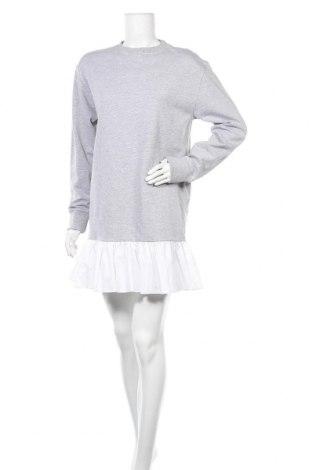 Šaty  Missguided, Velikost S, Barva Šedá, 55% polyester, 45% bavlna, Cena  631,00Kč