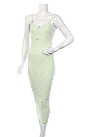 Рокля Missguided, Размер S, Цвят Зелен, 50% полиестер, 45% памук, 5% еластан, Цена 25,20лв.