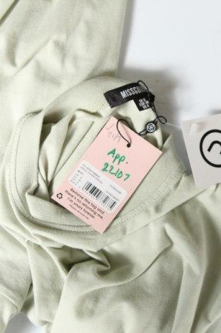 Рокля Missguided, Размер S, Цвят Зелен, 52% полиестер, 48% памук, Цена 20,80лв.