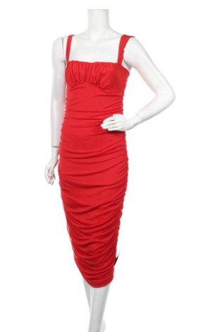 Рокля Nly Trend, Размер M, Цвят Червен, 95% полиестер, 5% еластан, Цена 35,55лв.