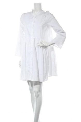 Φόρεμα ONLY, Μέγεθος M, Χρώμα Λευκό, 98% βαμβάκι, 2% ελαστάνη, Τιμή 15,30€