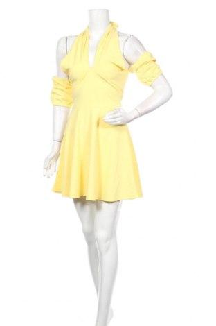 Φόρεμα Top Fashion, Μέγεθος S, Χρώμα Κίτρινο, Τιμή 8,66€