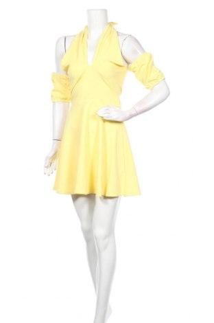 Φόρεμα Top Fashion, Μέγεθος S, Χρώμα Κίτρινο, Τιμή 9,90€