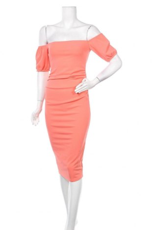 Рокля Top Fashion, Размер M, Цвят Оранжев, Цена 13,30лв.