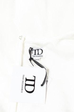 Рокля True Decadence, Размер M, Цвят Бял, Полиестер, Цена 201,75лв.