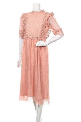 Рокля Y.A.S, Размер L, Цвят Розов, 60% памук, 40% полиамид, Цена 73,50лв.
