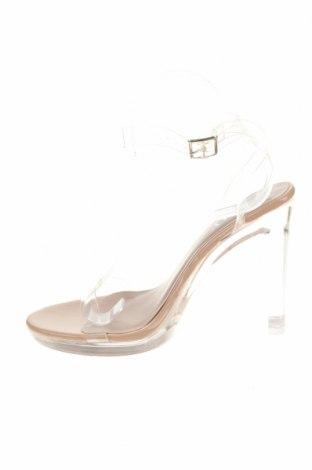 Σανδάλια, Μέγεθος 39, Χρώμα Λευκό, Πολυουρεθάνης, Τιμή 12,47€