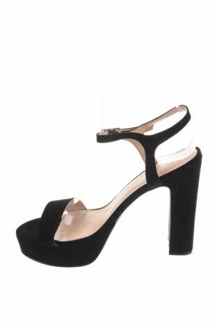 Σανδάλια Even&Odd, Μέγεθος 39, Χρώμα Μαύρο, Κλωστοϋφαντουργικά προϊόντα, Τιμή 16,73€