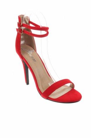 Σανδάλια Koi footwear, Μέγεθος 39, Χρώμα Κόκκινο, Κλωστοϋφαντουργικά προϊόντα, Τιμή 10,83€