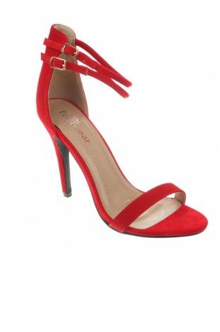 Σανδάλια Koi footwear, Μέγεθος 40, Χρώμα Κόκκινο, Κλωστοϋφαντουργικά προϊόντα, Τιμή 10,83€