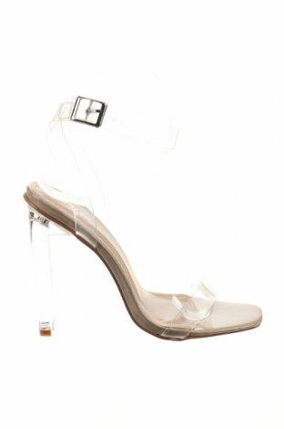 Σανδάλια Nasty Gal, Μέγεθος 36, Χρώμα Λευκό, Πολυουρεθάνης, Τιμή 15,21€