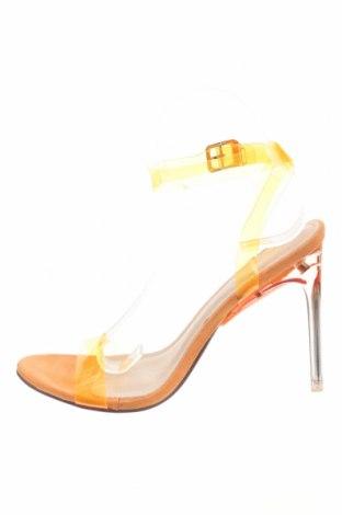 Сандали Sergio Todzi, Размер 38, Цвят Оранжев, Полиуретан, текстил, Цена 30,60лв.