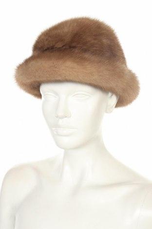 Καπέλο, Χρώμα Καφέ, Φυσική τρίχα, Τιμή 29,88€