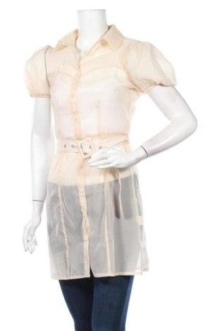 Дамска риза Missguided, Размер S, Цвят Бежов, Полиестер, Цена 34,86лв.