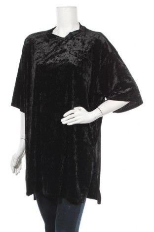Туника Monki, Размер L, Цвят Черен, 92% полиестер, 8% еластан, Цена 15,17лв.