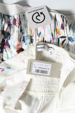 Туника Myrine, Размер M, Цвят Бял, Вискоза, Цена 43,68лв.