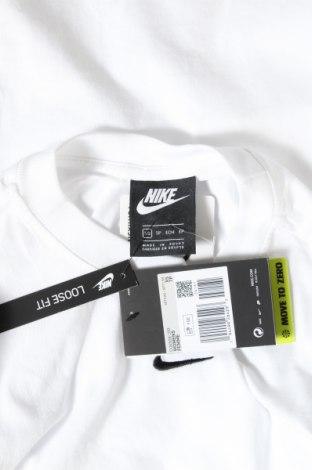 Туника Nike, Размер XS, Цвят Бял, Памук, Цена 44,55лв.