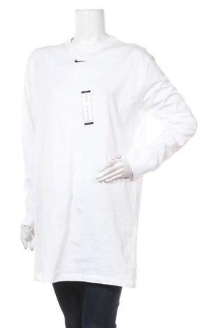 Туника Nike, Размер S, Цвят Бял, Памук, Цена 44,55лв.