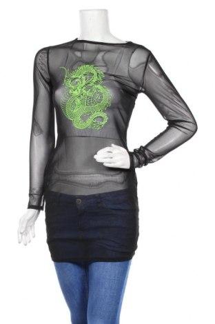 Туника Top Fashion, Размер S, Цвят Черен, Цена 13,68лв.