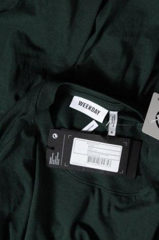 Τουνίκ Weekday, Μέγεθος M, Χρώμα Πράσινο, Βαμβάκι, Τιμή 13,68€