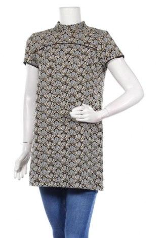Туника Zara, Размер M, Цвят Многоцветен, 44% полиестер, 38% памук, 17% акрил, 1% други нишки, Цена 18,11лв.