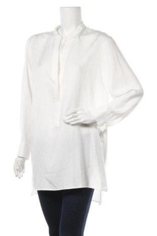 Туника Zara, Размер L, Цвят Бял, 97% лиосел, 3% полиестер, Цена 25,84лв.