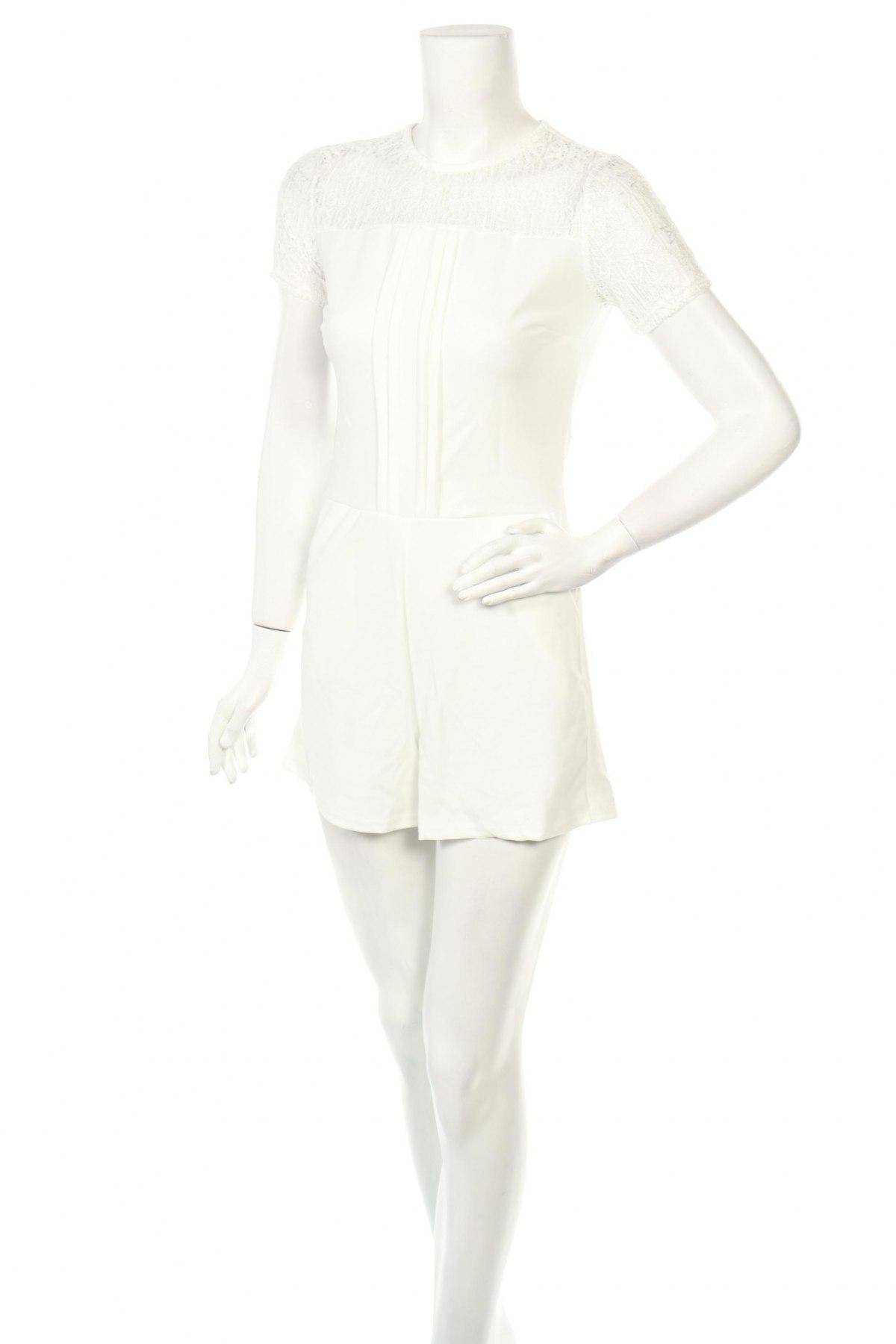 Γυναικεία σαλοπέτα Made In Italy, Μέγεθος S, Χρώμα Λευκό, 95% πολυεστέρας, 5% ελαστάνη, Τιμή 14,74€