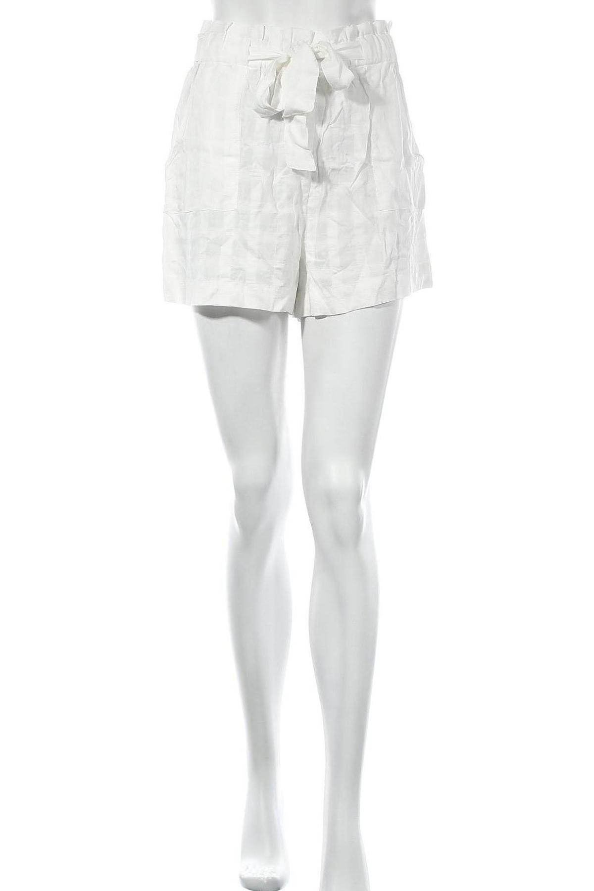 Дамски къс панталон Polo By Ralph Lauren, Размер XS, Цвят Екрю, Други материали, Цена 35,70лв.