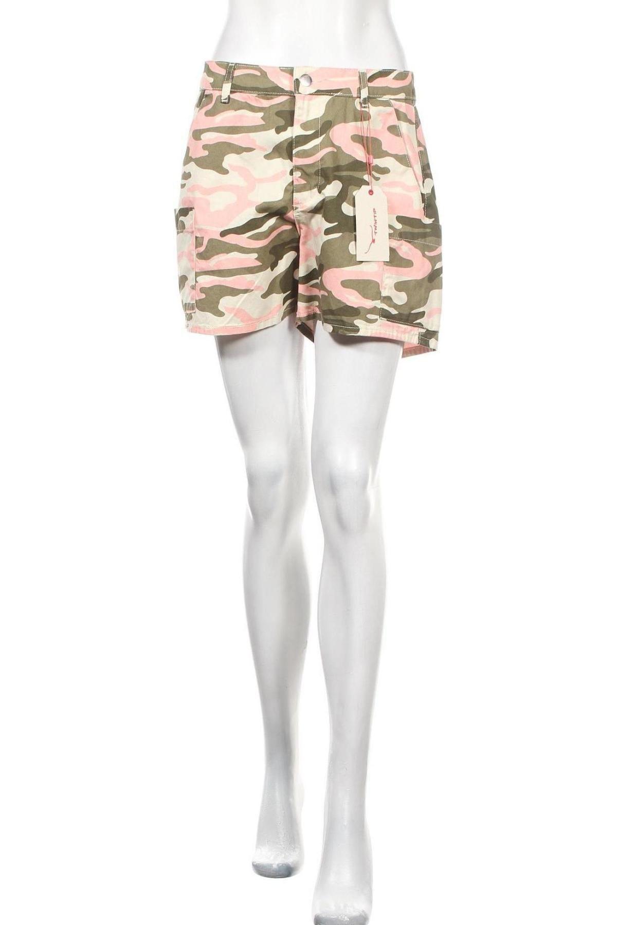 Γυναικείο κοντό παντελόνι Twintip, Μέγεθος M, Χρώμα Πολύχρωμο, Βαμβάκι, Τιμή 11,34€