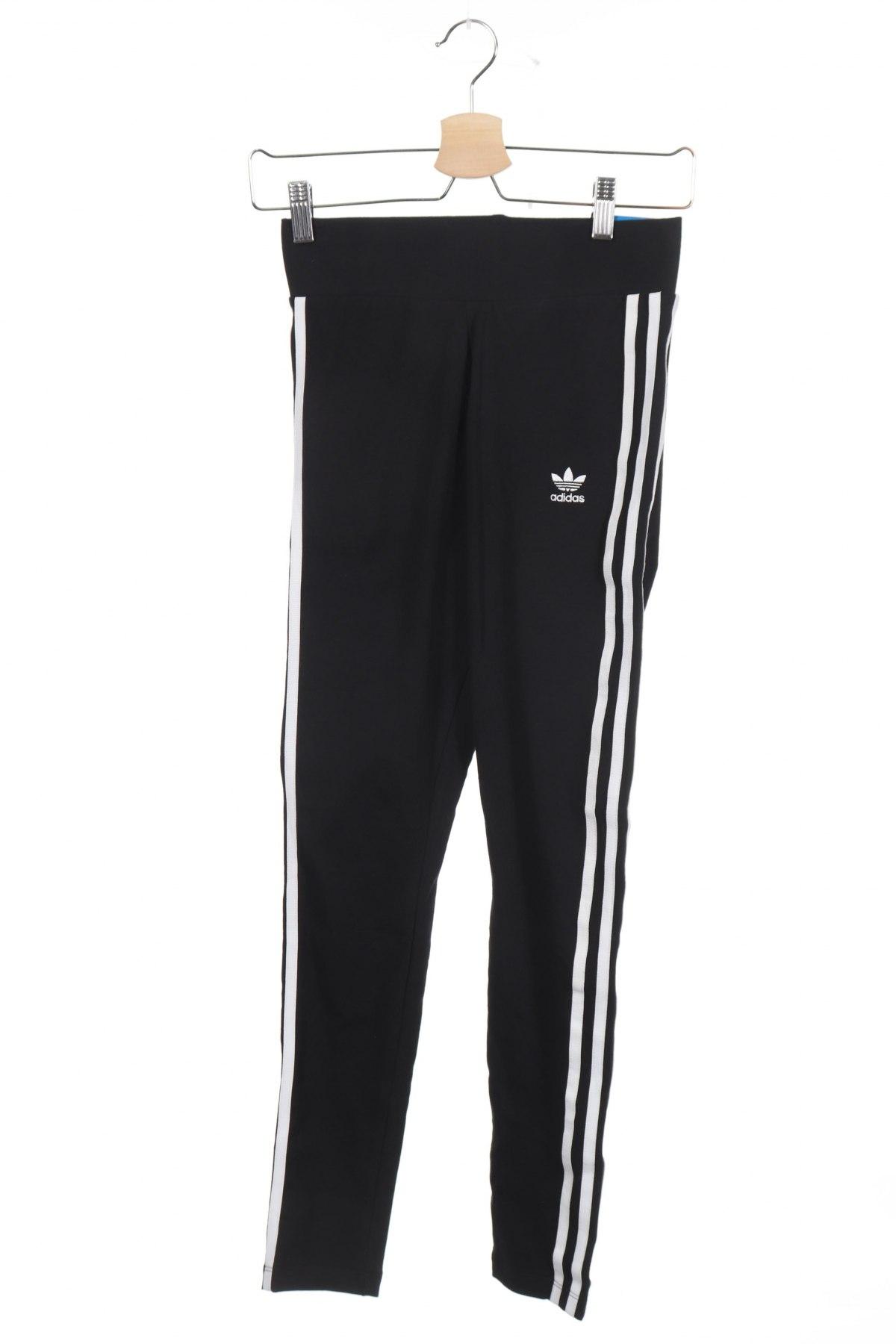 Дамски клин Adidas Originals, Размер XS, Цвят Черен, 93% памук, 7% еластан, Цена 34,96лв.