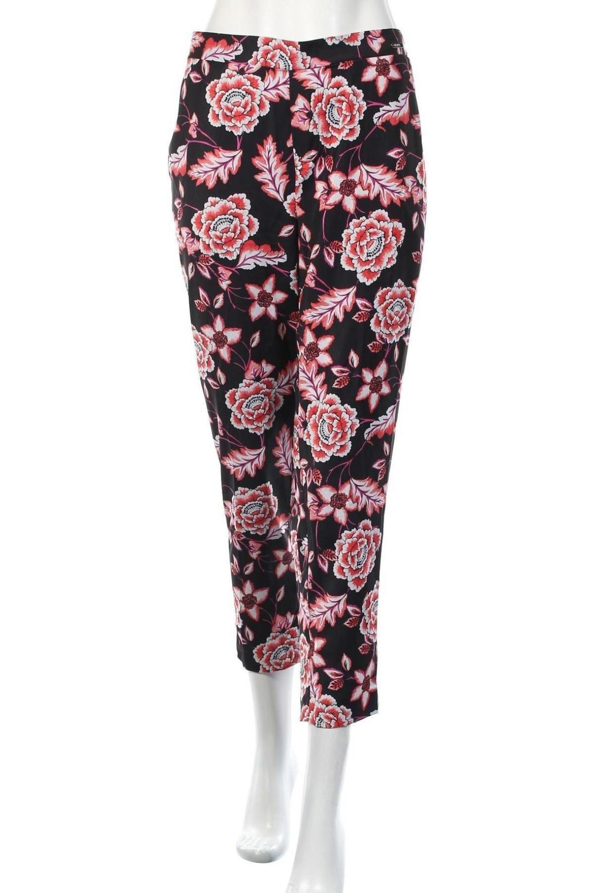 Дамски панталон Guess, Размер M, Цвят Черен, Полиестер, Цена 35,70лв.