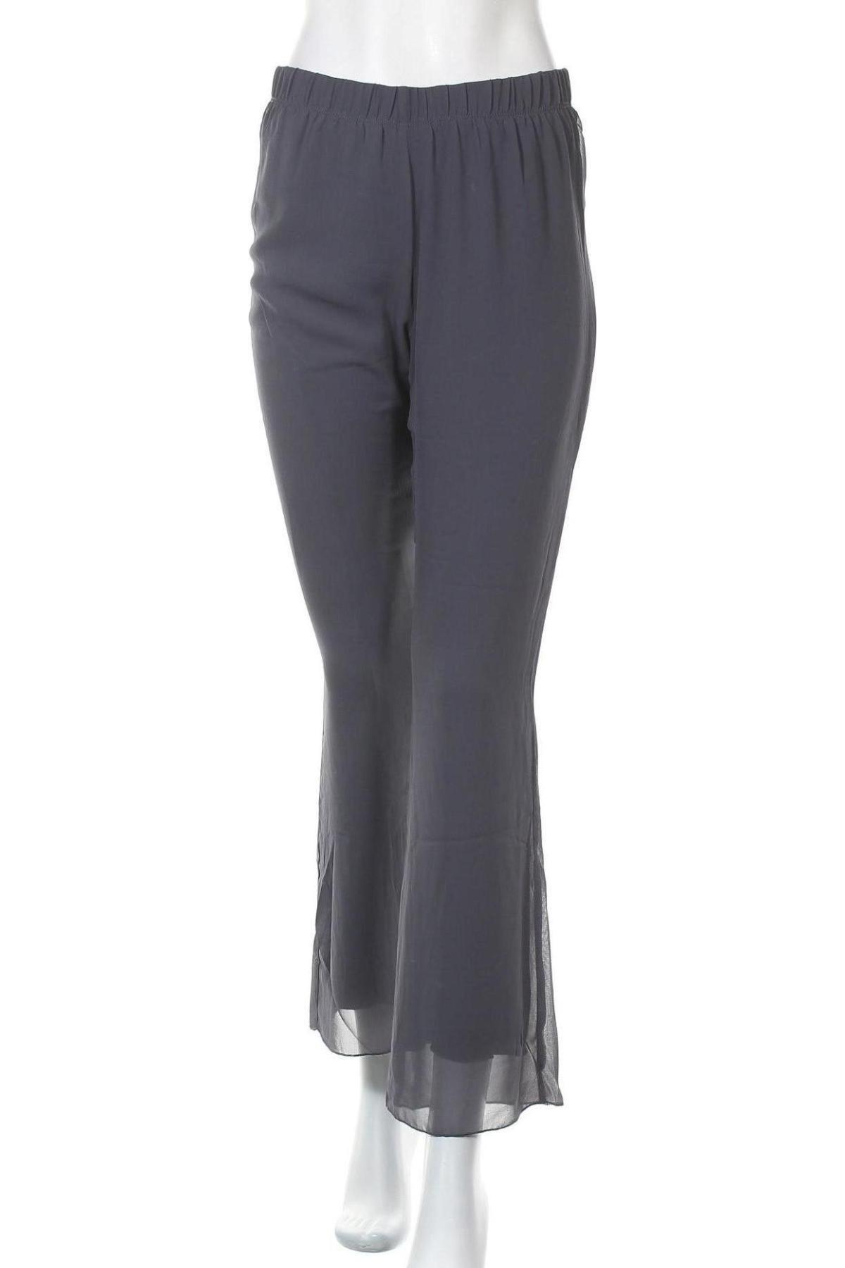 Дамски панталон Myrine, Размер S, Цвят Син, 100% полиестер, Цена 31,00лв.