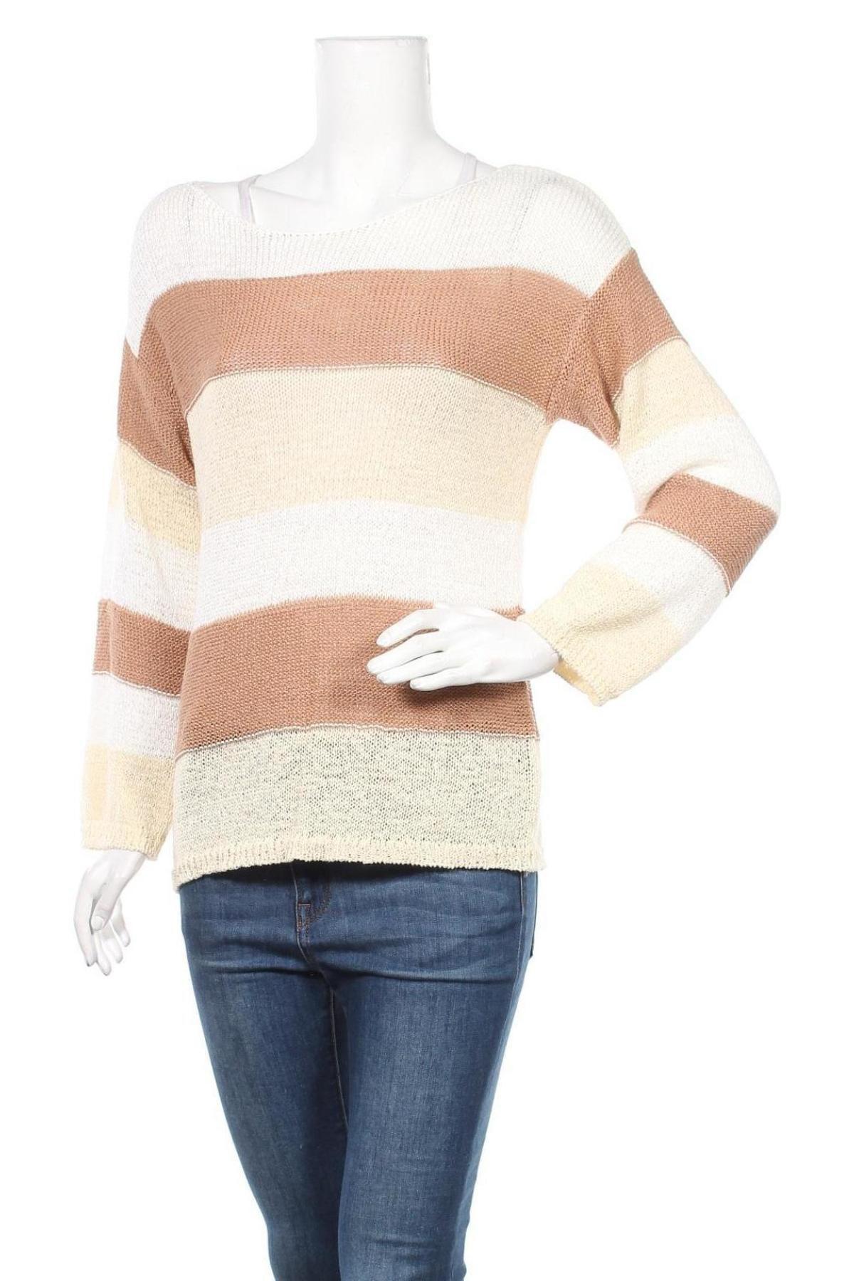 Γυναικείο πουλόβερ Lascana, Μέγεθος S, Χρώμα Πολύχρωμο, 60% πολυεστέρας, 40% βαμβάκι, Τιμή 22,81€