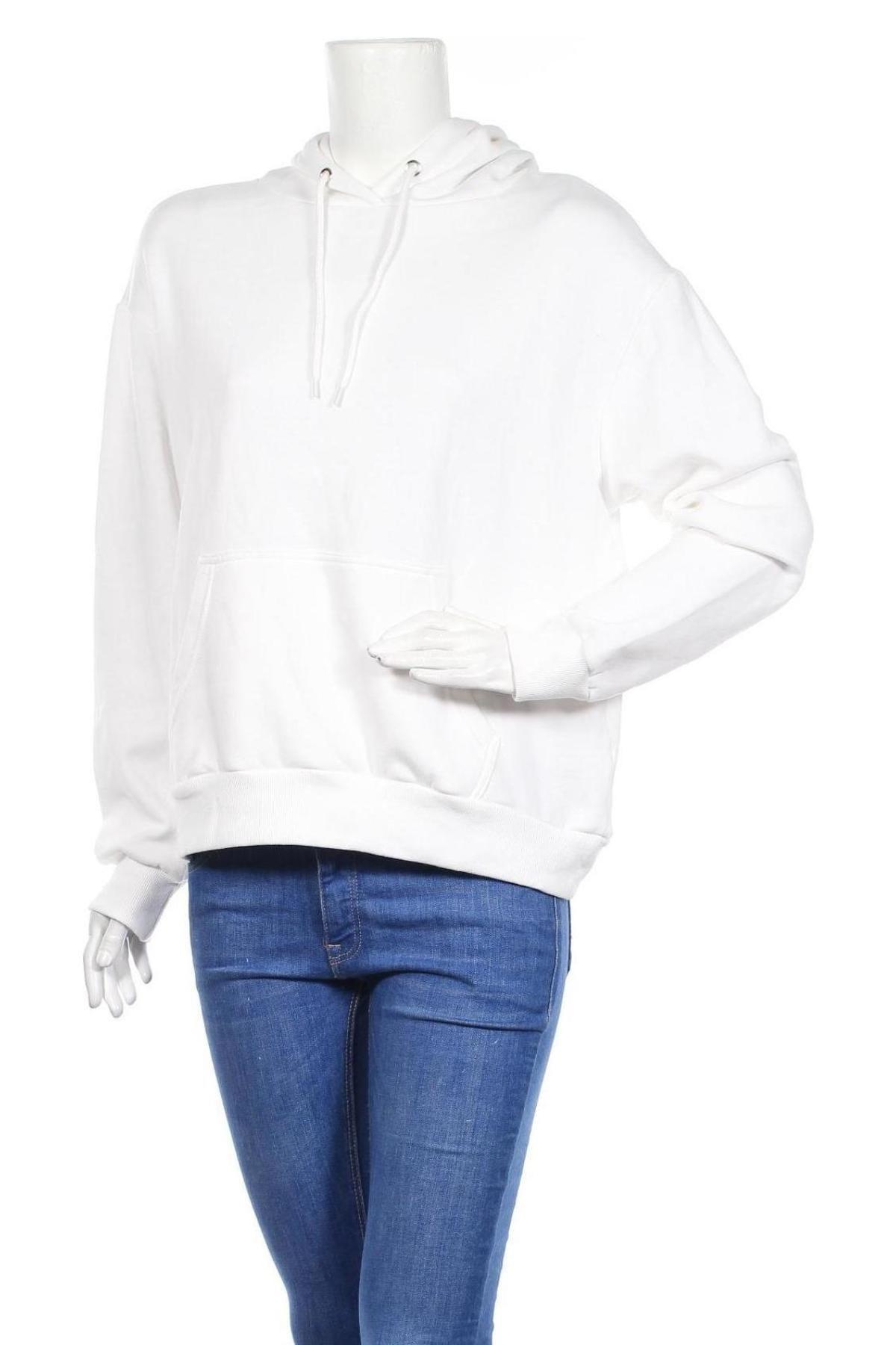 Дамски суичър Even&Odd, Размер S, Цвят Бял, 60% памук, 40% полиестер, Цена 28,00лв.