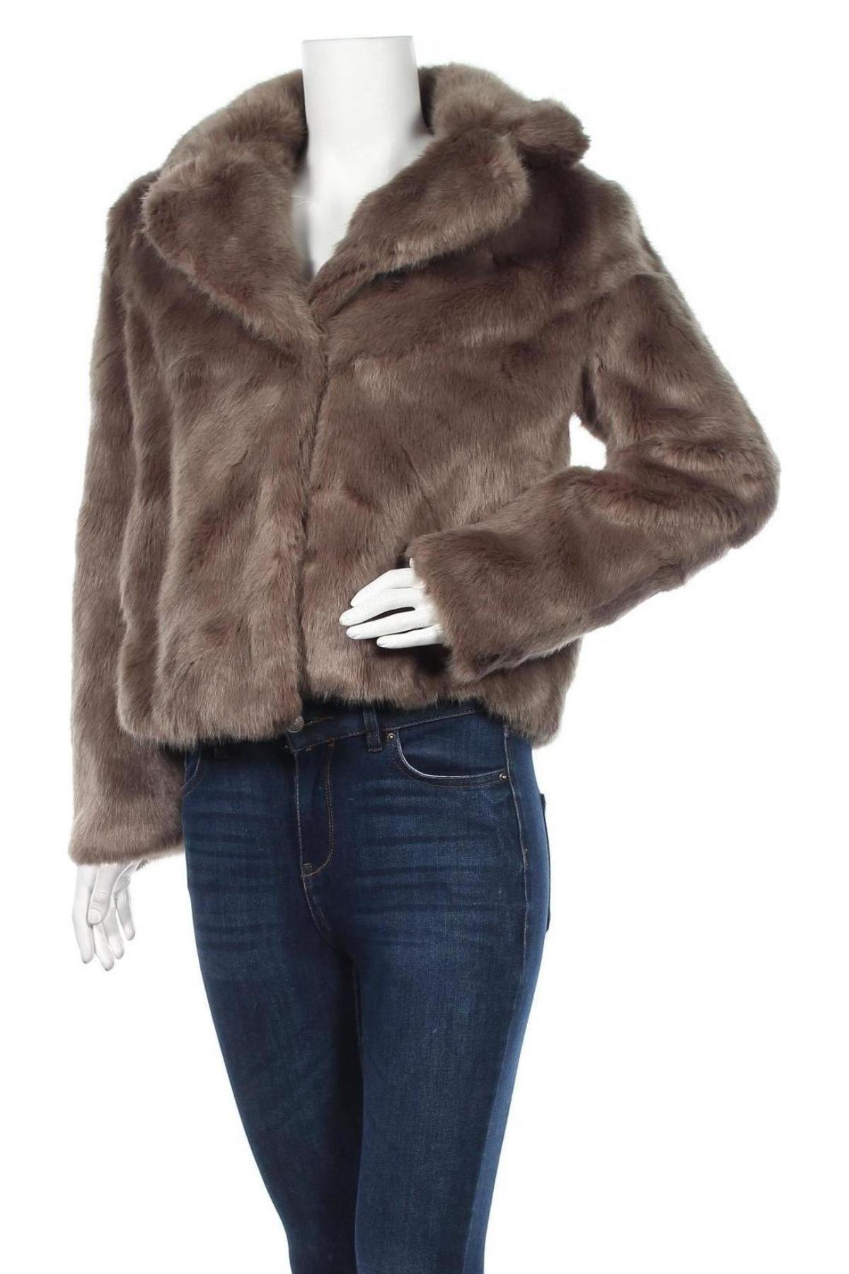 Дамско палто Vero Moda, Размер S, Цвят Зелен, 79% акрил, 21% полиестер, Цена 52,15лв.