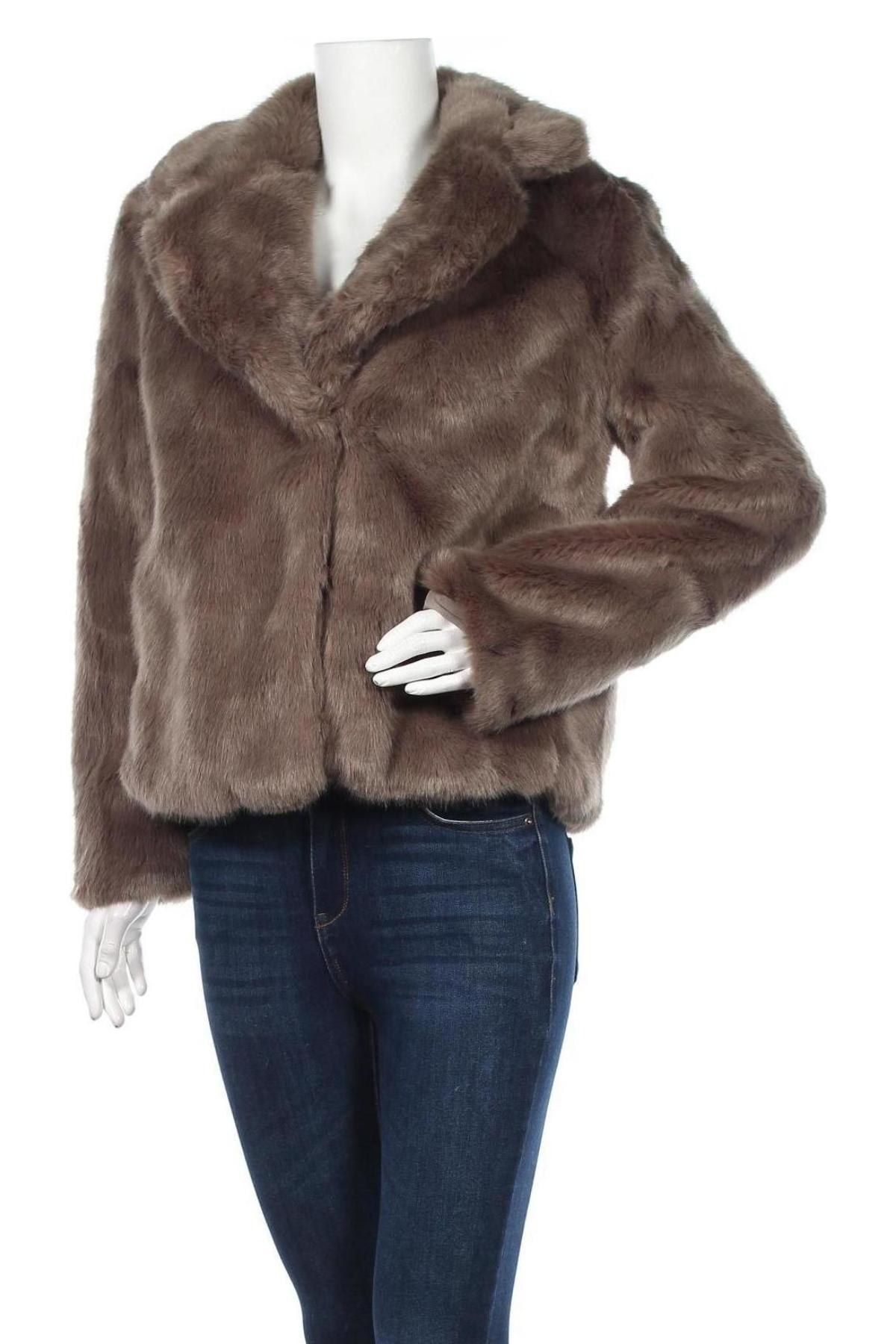 Дамско палто Vero Moda, Размер M, Цвят Зелен, 79% акрил, 21% полиестер, Цена 52,15лв.
