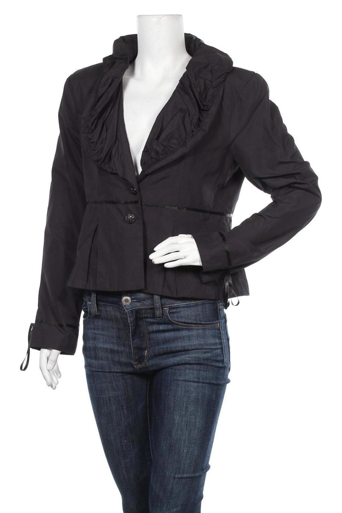 Дамско сако La Mode Est A Vous, Размер L, Цвят Син, Полиестер, Цена 25,08лв.