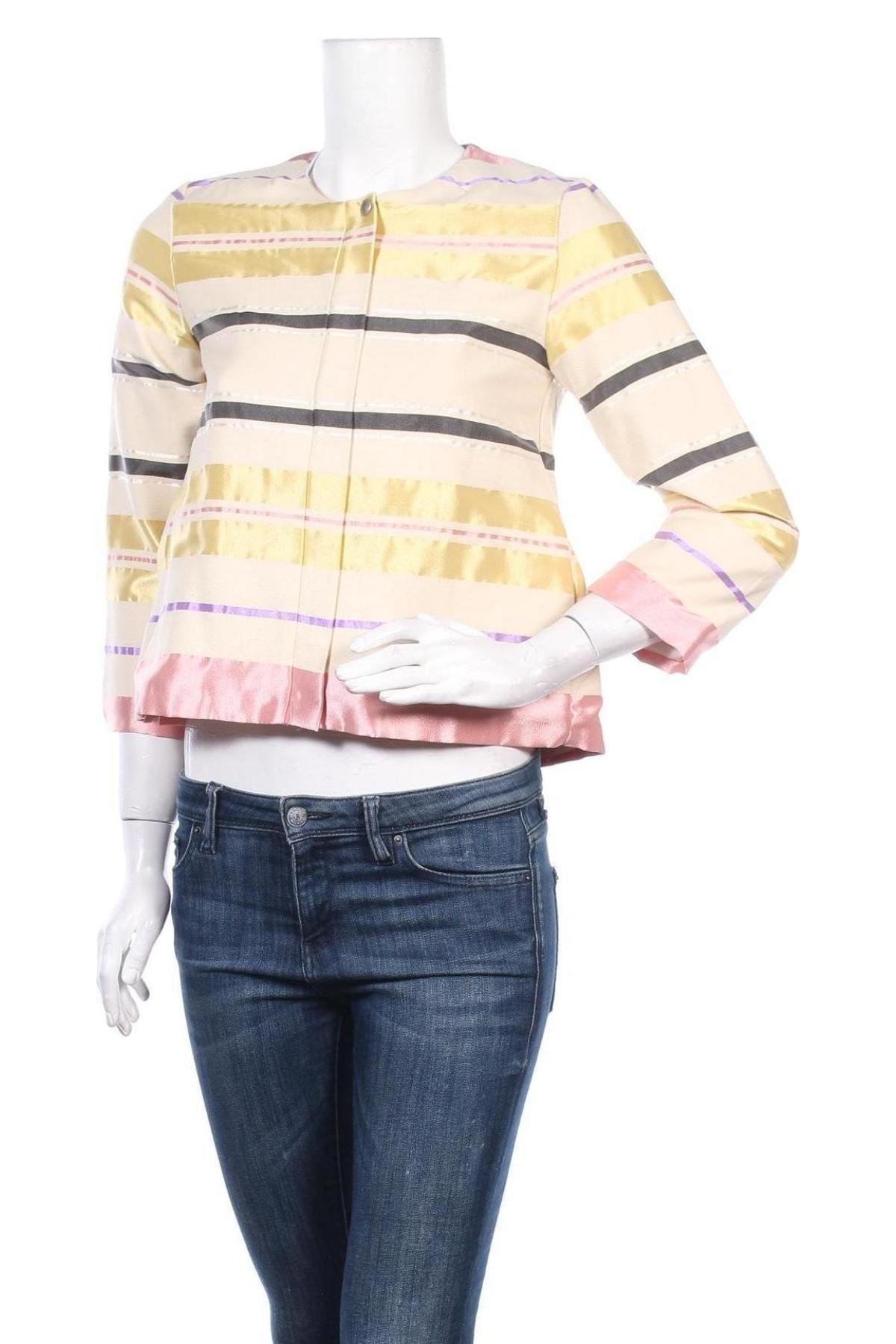 Дамско яке Please, Размер XS, Цвят Многоцветен, 57% полиестер, 43% памук, Цена 89,55лв.