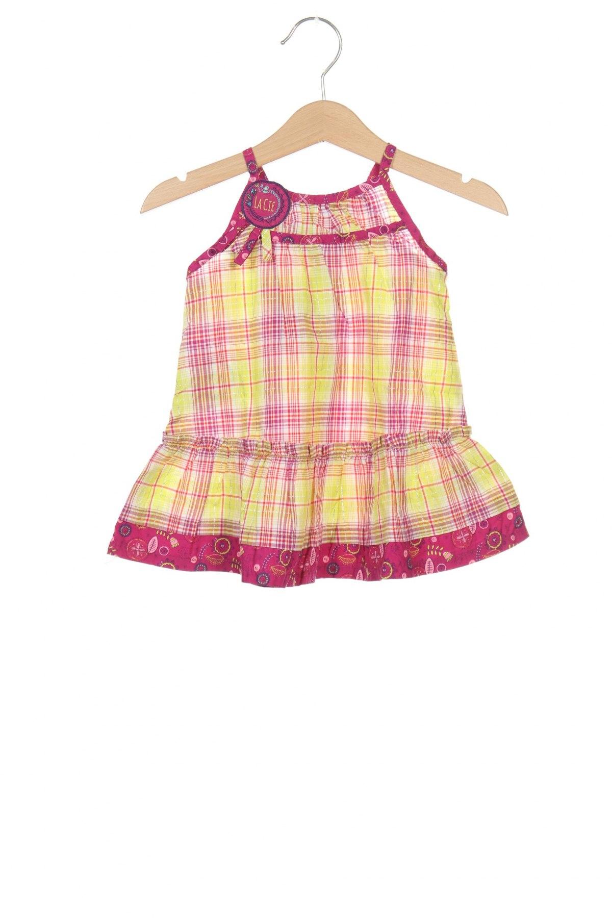 Παιδικό φόρεμα La Compagnie des Petits, Μέγεθος 3-6m/ 62-68 εκ., Χρώμα Πολύχρωμο, 99% βαμβάκι, 1% πολυεστέρας, Τιμή 10,83€