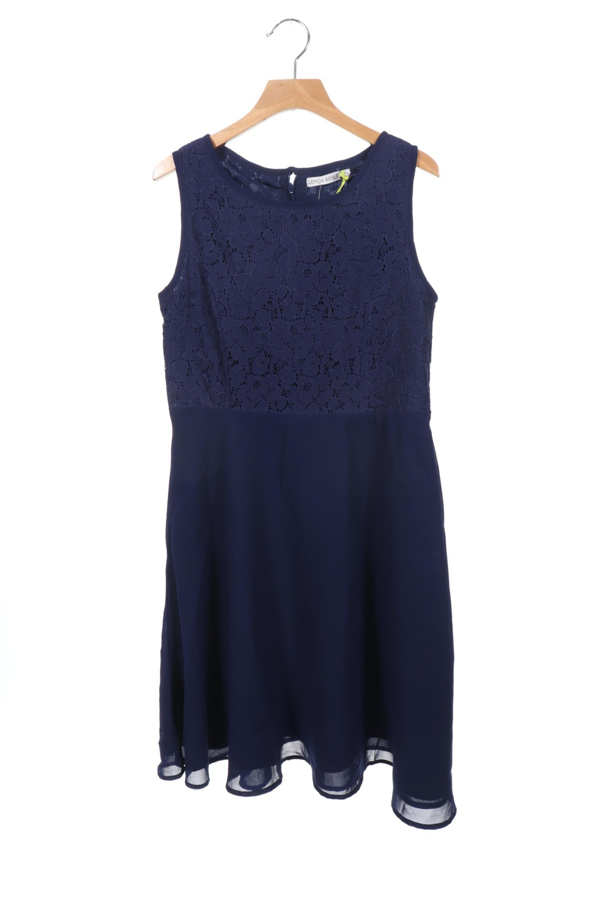 Παιδικό φόρεμα Lemon Beret, Μέγεθος 11-12y/ 152-158 εκ., Χρώμα Μπλέ, Πολυεστέρας, Τιμή 8,51€