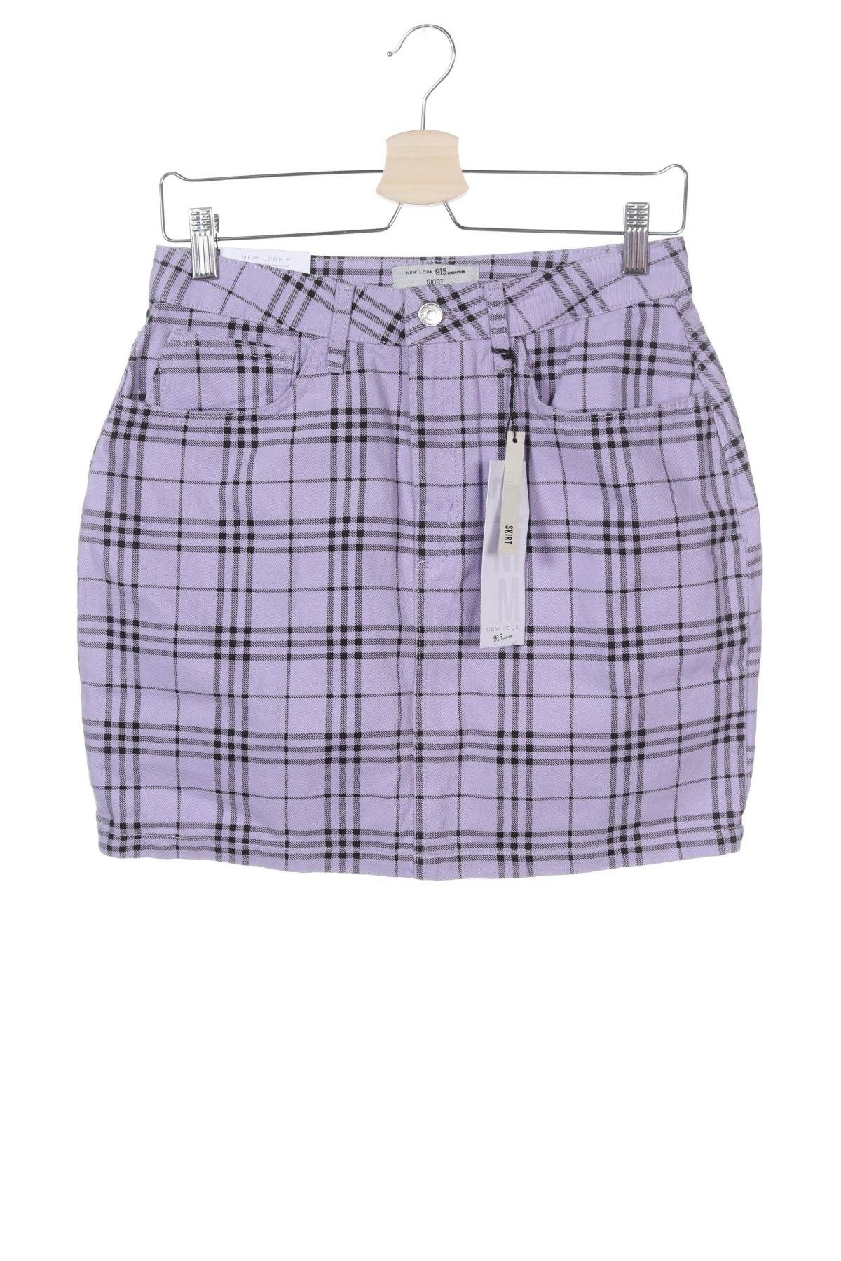 Παιδικό κοντό παντελόνι New Look, Μέγεθος 12-13y/ 158-164 εκ., Χρώμα Βιολετί, Βαμβάκι, Τιμή 9,28€