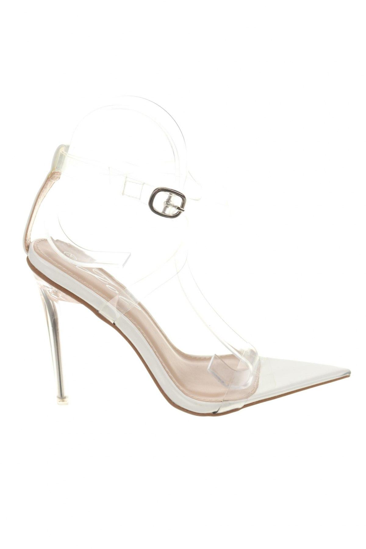 Σανδάλια, Μέγεθος 37, Χρώμα Λευκό, Πολυουρεθάνης, Τιμή 14,60€