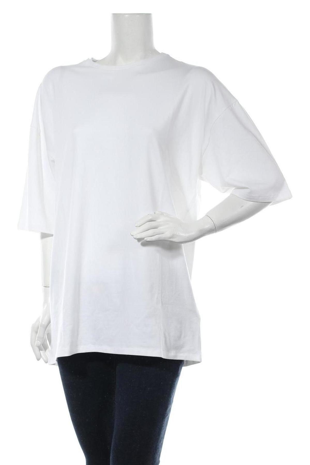 Туника Stefanie Giesinger for Nu-in, Размер M, Цвят Бял, 64% лиосел, 32% памук, 4% еластан, Цена 63,20лв.