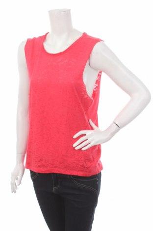 Γυναικείο αμάνικο μπλουζάκι Crafted, Μέγεθος M, Χρώμα Ρόζ , 50% πολυεστέρας, 50% βαμβάκι, Τιμή 2,32€