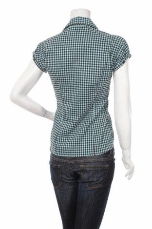 Γυναικείο πουκάμισο Amisu, Μέγεθος S, Χρώμα Πράσινο, 72% βαμβάκι, 25% πολυαμίδη, 3% ελαστάνη, Τιμή 10,31€