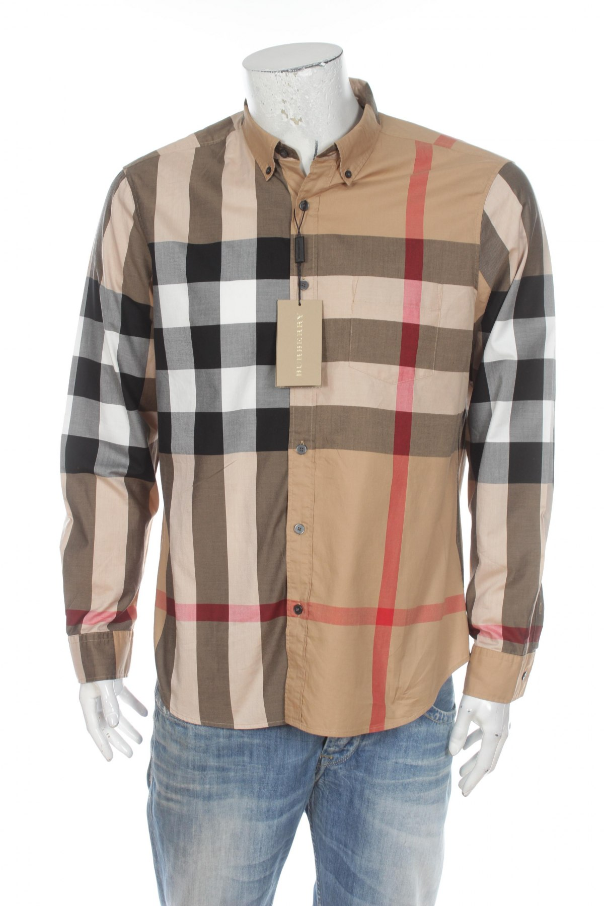 1b5e88bb18a5 Ανδρικό πουκάμισο Burberry - σε συμφέρουσα τιμή στο Remix -  100027126